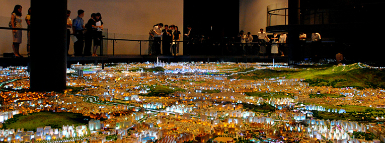 Seoul, Now and in the Making...  The City Model Image Hall