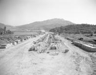 경부 고속도로 공사현장