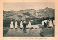 (한국의 강 풍경)돌다리