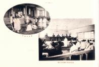 옛 재판 모습과 경성지방법원 재판 모습