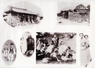 조선풍속(잡화상점, 시골집, 상류층 부부, 조선 여성 외출복, 빨래터, 어머니와 아이)