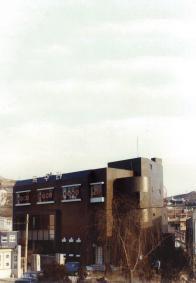 1980년대 증축한 연대 앞 다방 건물