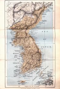 한국 지도