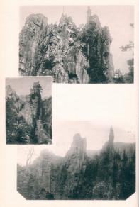 금강산의 풍경들