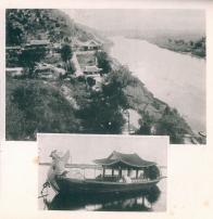 평양의 풍경(모란대, 대동강)