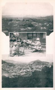 전경 사진(군산, 목포)과 베짜기