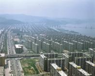 1980년 구반포 및 신반포 일대 아파트 항공사진