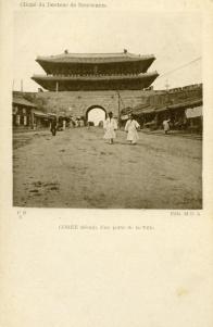 숭례문 앞 거리 풍경