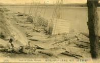용산 한강변 선박발착장 전경