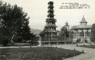 파고다공원 음악당과 원각사지 십층석탑