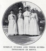 서울의 한국인 간호사와 관리자