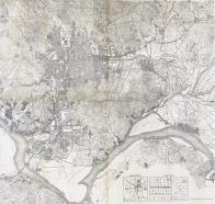 『경성도(京城圖, 1922)』 부분