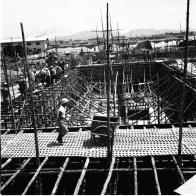 마포구 빗물처리장 건설현장