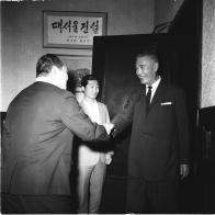 대만 외무성 대표 방문