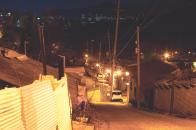백사마을의 밤 풍경