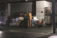 중부시장 화물하역 : 4.핸드카 운반