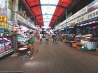 축산물시장 내부