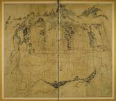 도성대지도(조선시대 동대문 일대)