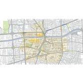 동대문 일대 시대별 지명 및 주요 시설 분포도