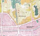 2007년 창신동 도시계획현황도