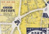 남대문시장 일대 상점 분포도(1955년경)