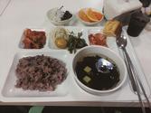 고시뷔페 식사