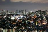 가리봉동 중심부 전경(밤)
