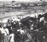 1970년 마장동 청계천변 화재현장