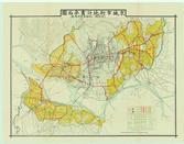 경성시가지계획평면도(京城市街地計劃平面圖)