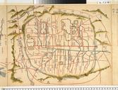 옛 지도 위의 이현(19세기, 동여도)