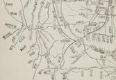 「도성삼군문분계지도(1751)」 아현·염리 일대 부분