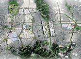 도심재창조 종합계획 주요 4축 조감도
