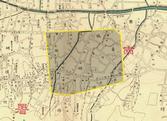 1907년 인현동 일대 지명 분포