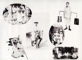 조선풍속(방망이 장인, 나귀 탄 노인, 세탁부와 아이들, 깡통 물지게, 거위장수, 식사)