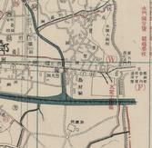 경성부시가강계도(동대문 발전소 세부, 1914)