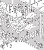 2017년 상상마당 : 상상마당 앞 사거리
