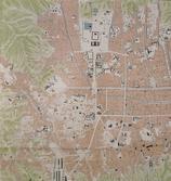 경성시가도(京城市街圖) 중 돈의문뉴타운 지역