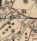 고갯마루 명칭 마을의 지도상 표기 양상(송현)